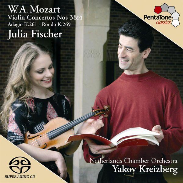 Julia Fischer - Mozart : Concertos pour violon n°3 & 4