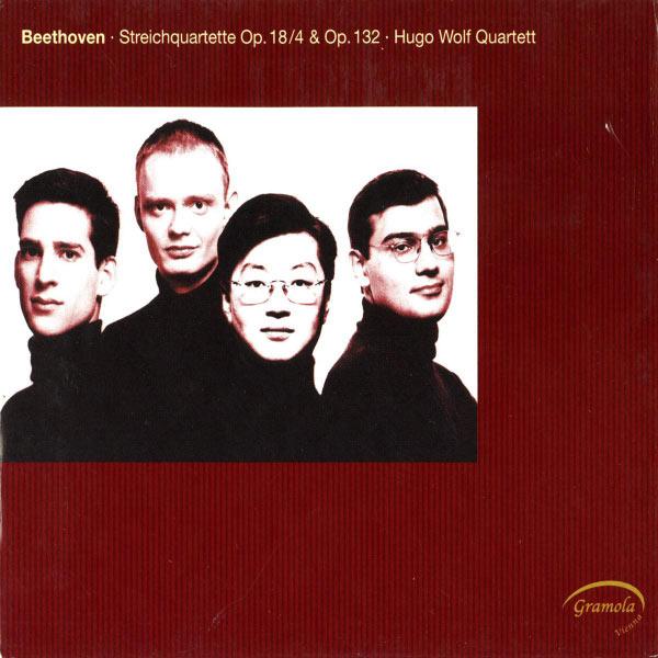 Hugo Wolf Quartett - Beethoven: String Quartets Nos. 4 & 15
