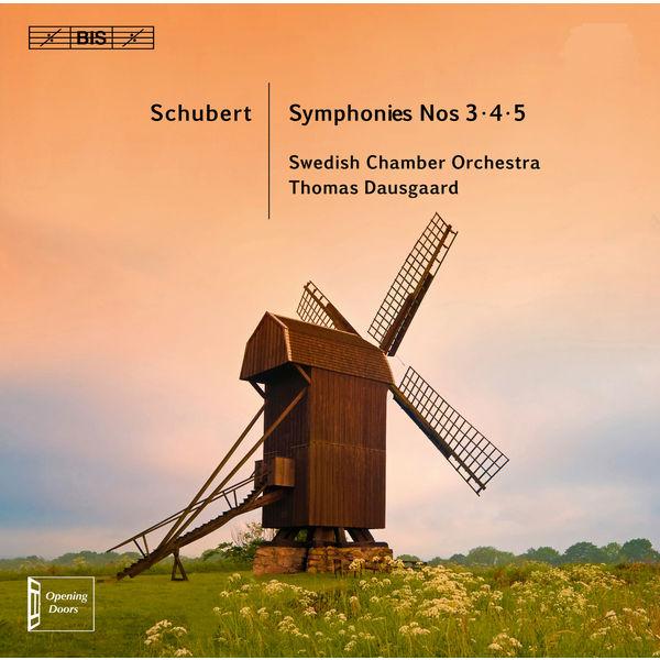 Svenska Kammarorkestern Schubert: Symphonies Nos. 3-5