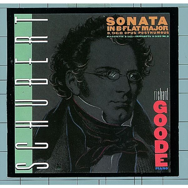 Richard Goode - Schubert: Sonata In B-Flat Major D. 960 / Allegretto In C Minor, D. 915 / Impromptu In A-flat, D. 935, No. 2 (Édition StudioMasters) (Édition StudioMasters)