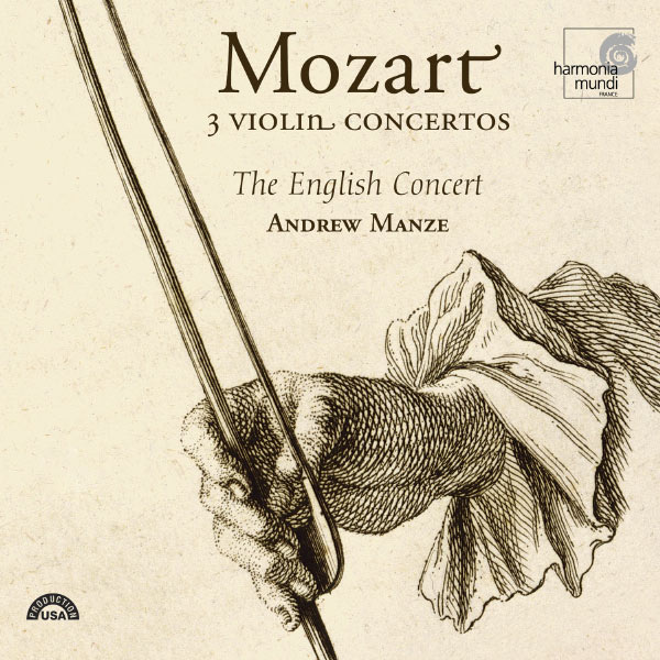 The English Concert - Mozart: 3 Violin Concertos