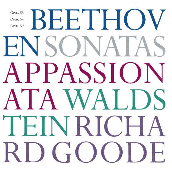 Richard Goode - Beethoven Sonatas Opp. 53, 54, 57