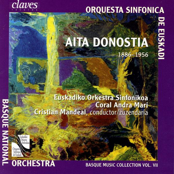 Aita Donostia Musique basque, vol. VII