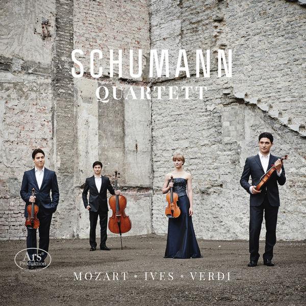 Schumann Quartett - Mozart, Ives & Verdi : String Quartets