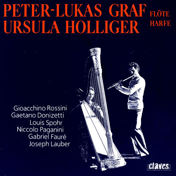 Peter-Lukas Graf - Romantic Music for Flute & Harp