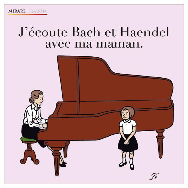 Anne Queffélec - J'écoute Bach et Haendel avec ma maman