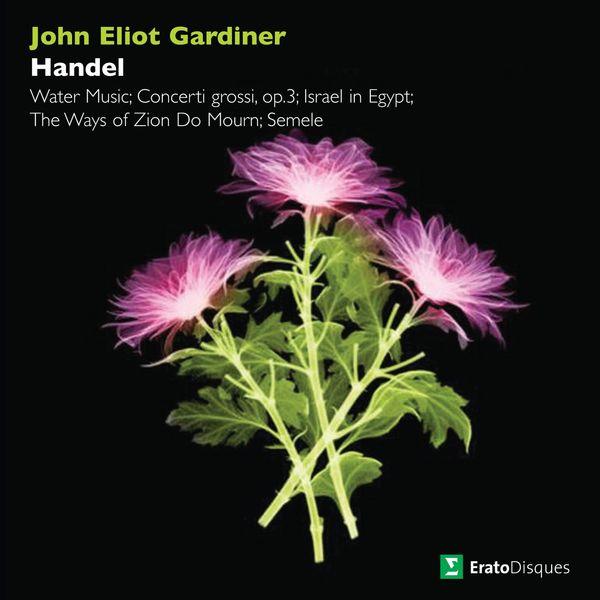 John Eliot Gardiner - Handel: Water Music, Concerti grossi, Israel in Egypt, The Ways of Zion Do Mourn & Semele