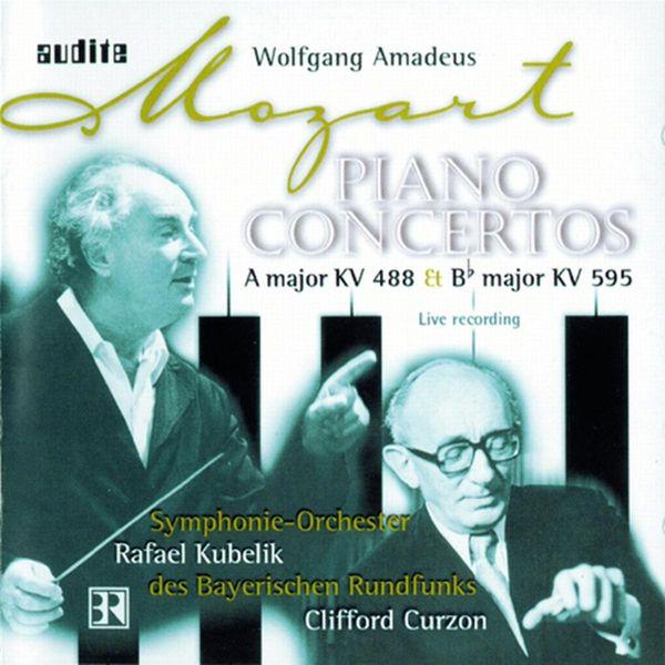 Clifford Curzon - Mozart: Piano Concertos Nos. 23 & 27 (1970, 1975)