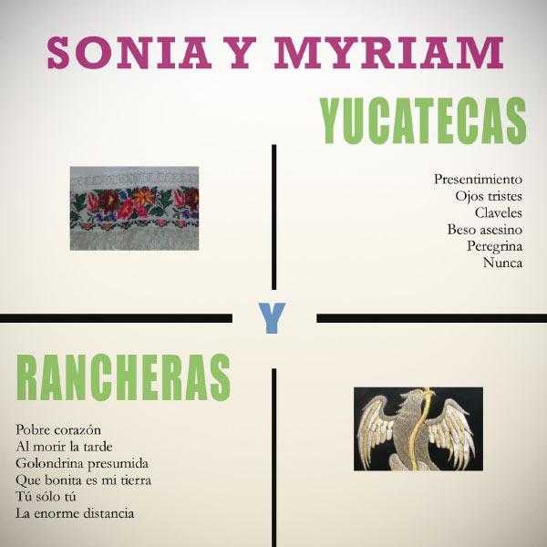 Sonia Y Myriam - Yucatecas y Rancheras