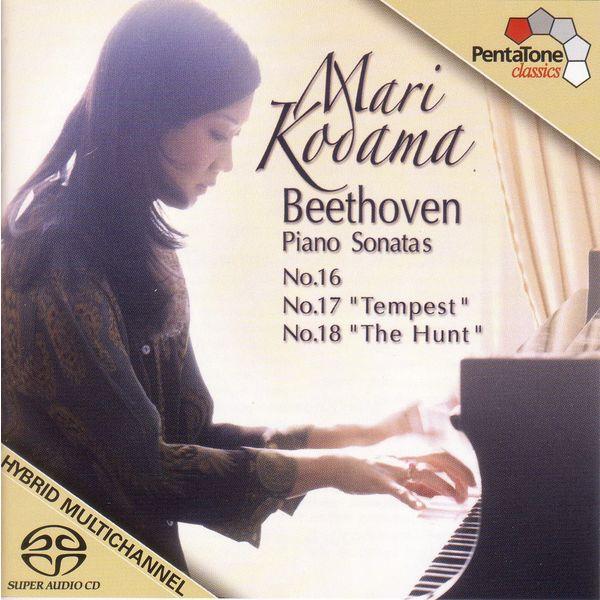 Mari Kodama - Sonates n°16-18 Op. 31