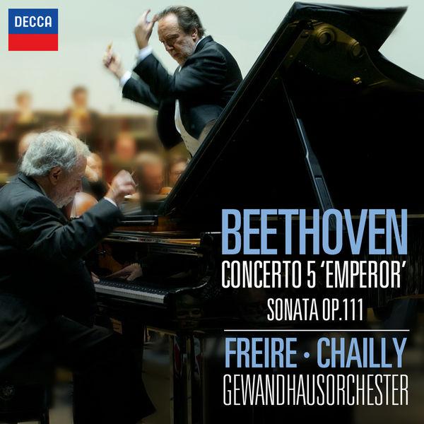"""Nelson Freire - Ludwig van Beethoven : Piano Concerto No.5 """"Emperor"""" - Piano Sonata No.32 in C Minor, Op.111"""