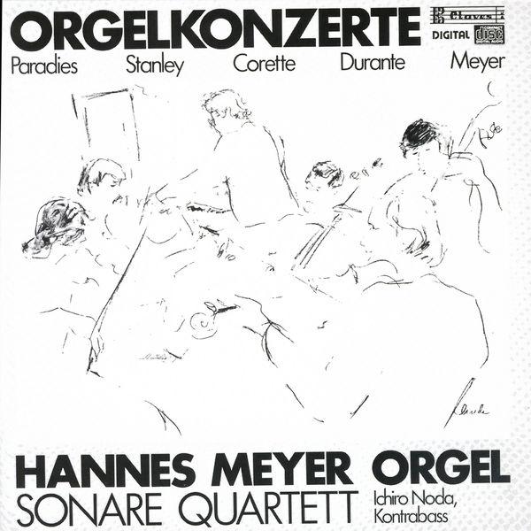 Hannes Meyer - Barocke Orgelkonzerte / Suite Paysanne