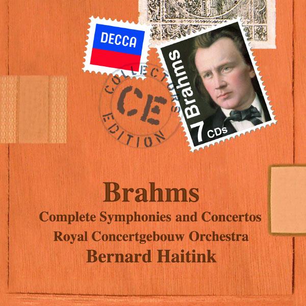 Royal Concertgebouw Orchestra - Johannes Brahms : Intégrale symphonique (Symphonies, Concertos, Ouvertures...)