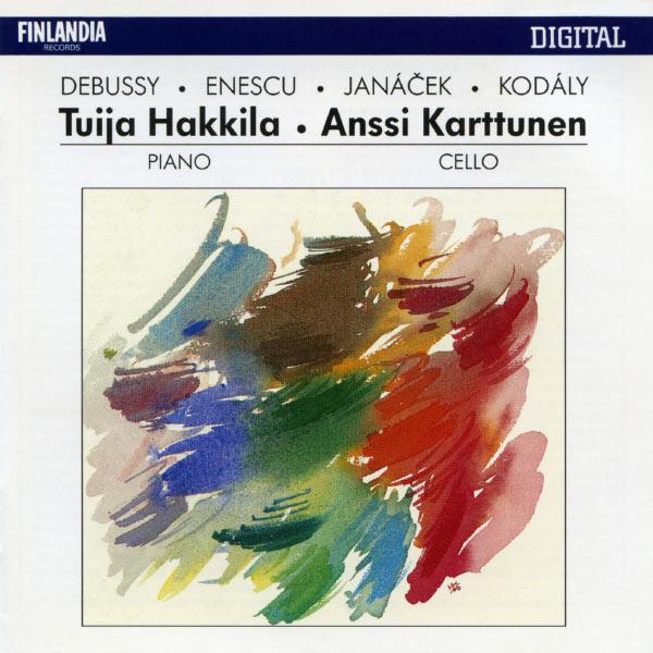 Anssi Karttunen - Works by Debussy, Enescu, Janácek and Kodály