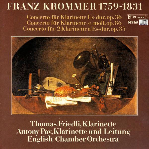 Franz Krommer - Concertos pour clarinette