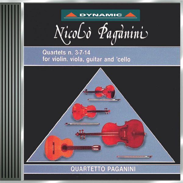 Paganini Quartet - Paganini: The 15 Quartets for Strings and Guitar, Vol. 2