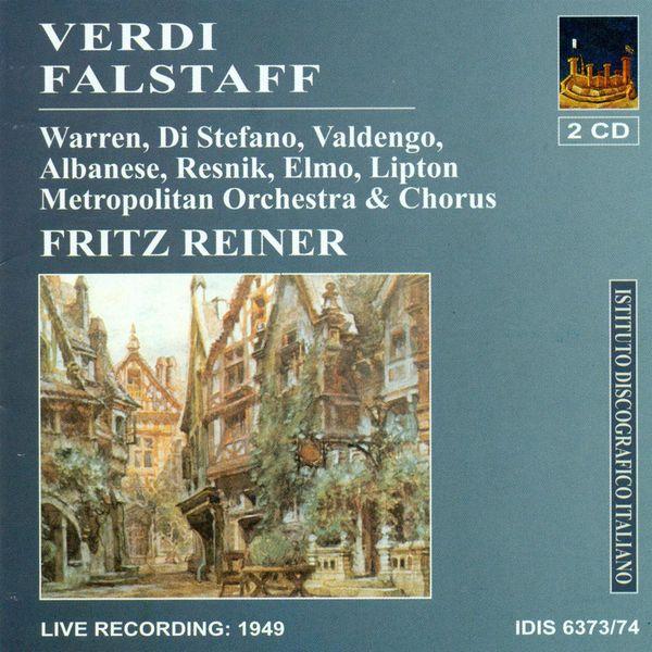 Fritz Reiner - Verdi, G.: Falstaff [Opera] (Reiner) (1949)