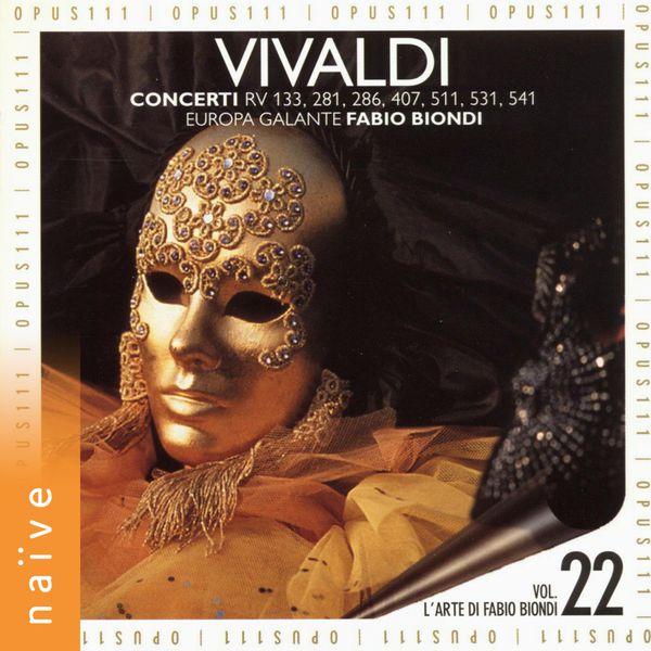 Fabio Biondi - Vivaldi: Concerti