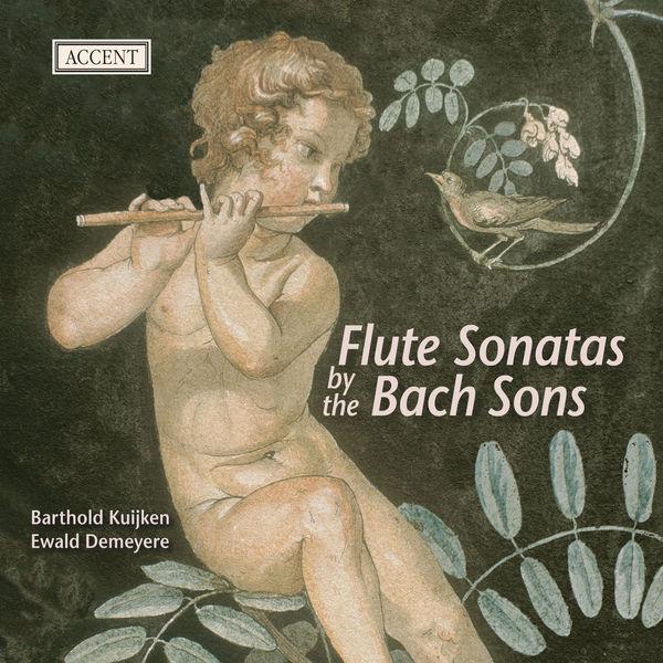 Barthold Kuijken - Sonates pour flûte des fils Bach