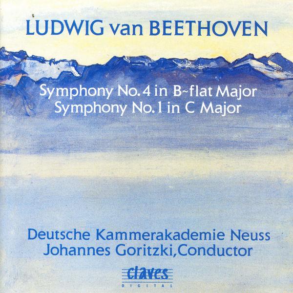 Ludwig van Beethoven - Symphonies n° 1 & 4
