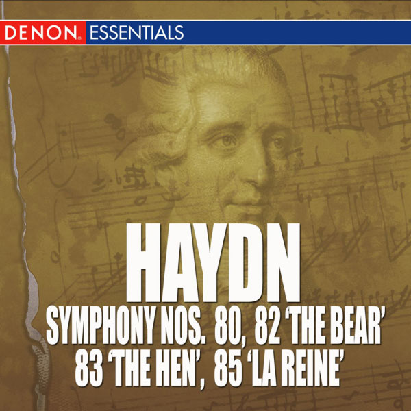 "Various Artists - Haydn: Symphony Nos. 80, 82 'The Bear', 83 'The Hen' & 85 ""La Reine"""