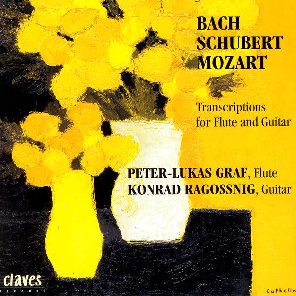 Peter-Lukas Graf - Transcriptions pour flûte et guitare