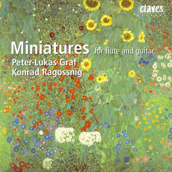 Peter-Lukas Graf - Miniatures pour flûte et guitare