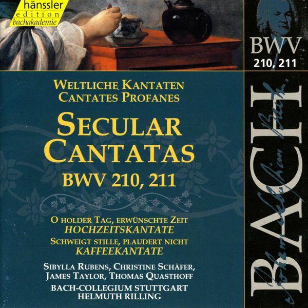 Helmuth Rilling - BACH, J.S.: Secular Cantatas, BWV 210-211