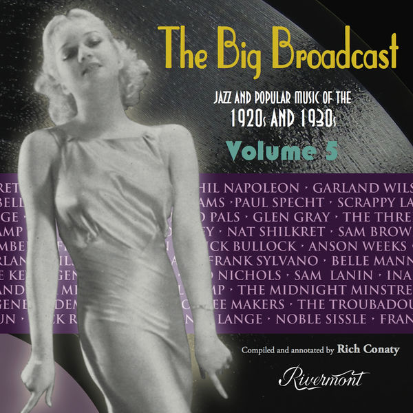 Various Artists - The Big Broadcast, Volume 5: Jazz and Popular Music of the 1920s and 1930s