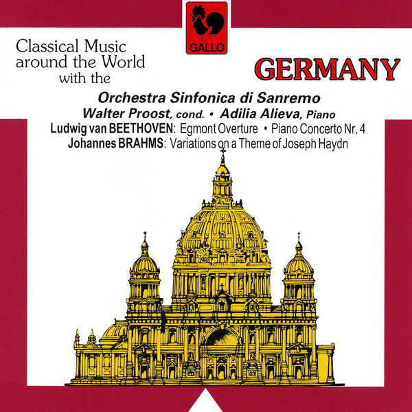 Adilia Alieva - Beethoven: Egmont Overture, Op. 84, Piano Concerto No. 4, Op. 58 & Brahms: Variations on a Theme by Haydn, Op.56 (Live)