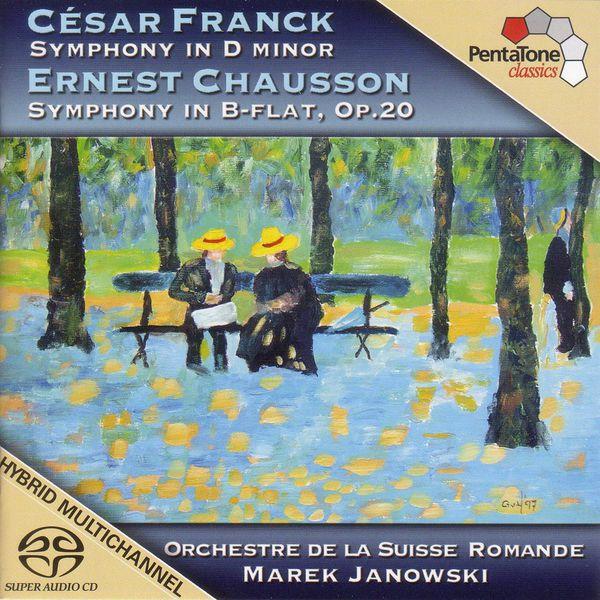 Marek Janowski - FRANCK: Symphony in D minor / CHAUSSON: Symphony in B flat major