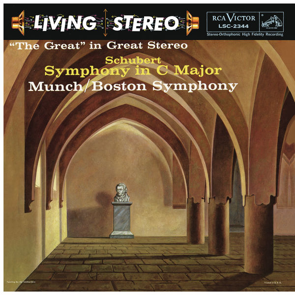 """Charles Munch - Schubert: Symphony No. 9 in C Major, D. 944 """"The Great"""""""