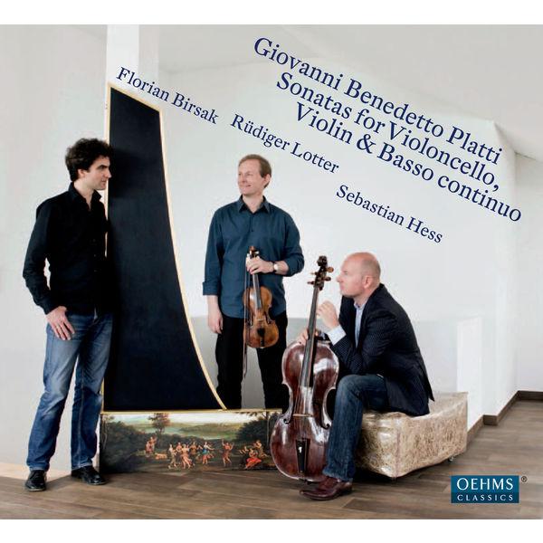 Rudiger Lotter - Giovanni Platti : Sonatas for Violoncello, Violin & Basso continuo