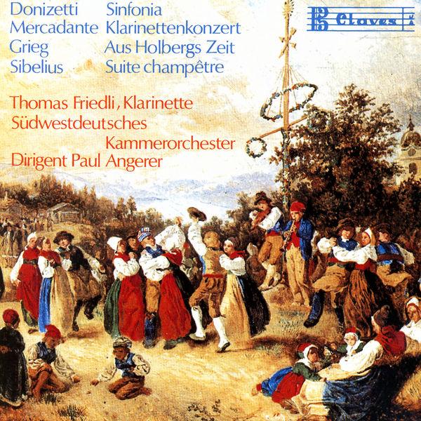 Gaetano Donizetti - Romantic Pieces for Chamber Orchestra