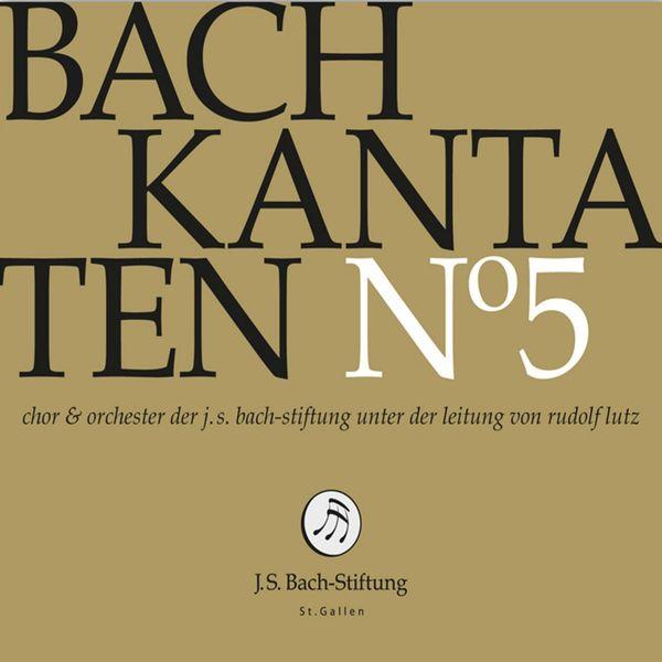 Chor der J. S. Bach-Stiftung - Bachkantaten N°5 (BWV 180, 42, 191)