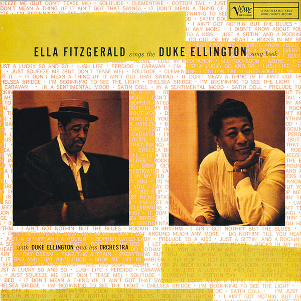 Ella Fitzgerald - Ella Fitzgerald Sings The Duke Ellington Song Book