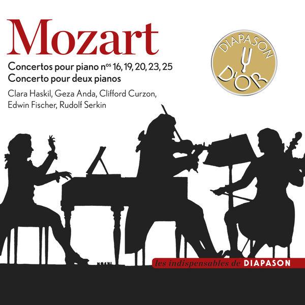 Clara Haskil - Mozart : Concertos pour piano Nos. 16, 19, 20, 23, 25 & Concerto pour deux pianos(Diapason n°593)