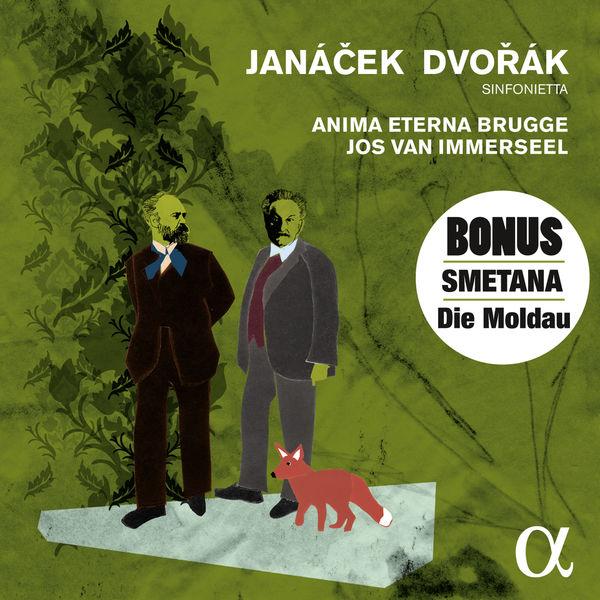 """Jos Van Immerseel - Janáček: Sinfonietta, Dvořák: Symphony """"New World"""""""