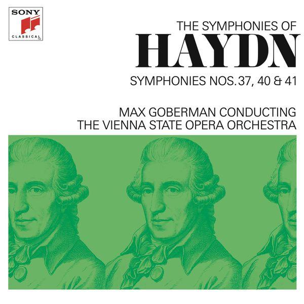 Max Goberman - Haydn: Symphonies Nos. 37, 40 & 41