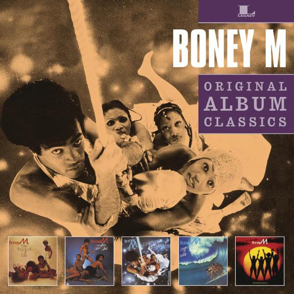 Boney M. - Take the heat off me - Love for sale - Nightflight to Venus - Oceans of fantasy - Boonoonoonoos