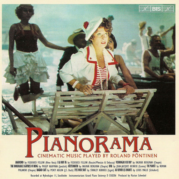 Roland Pöntinen - PIANORAMA - Collection of Film Music for Piano