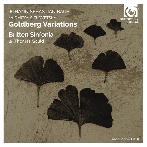 Thomas Gould - Bach/Sitkovetsky: Goldberg Variations