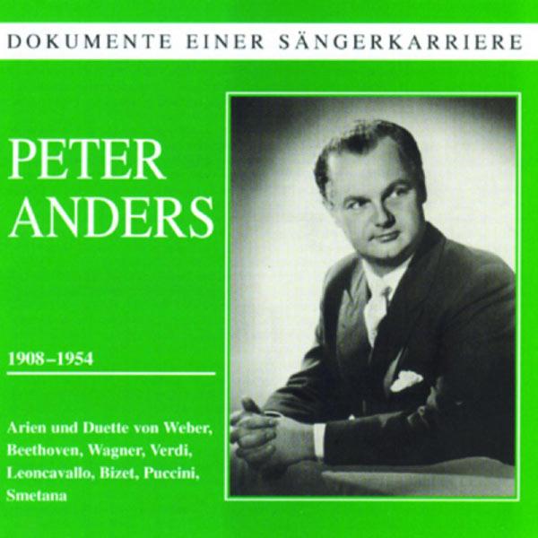 Peter A.G. - Dokumente einer Sängerkarriere - Peter Anders