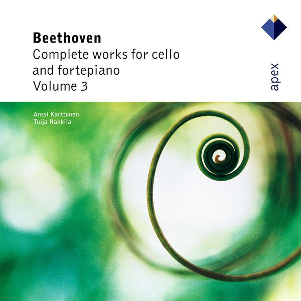 Anssi Karttunen - Apex: Beethoven Complete works for cello and fortepiano vol. 3