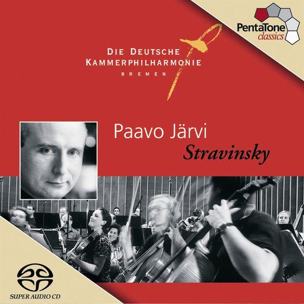 Paavo Järvi - Stravinksy: Grand Suite from Histoire du Soldat / Dumbarton Oaks Concerto