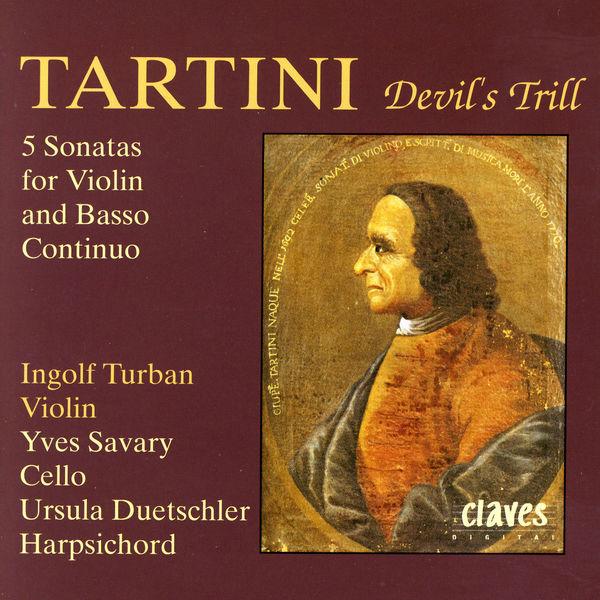Ingolf Turban - Tartini: Five Sonatas for Violin & Basso Continuo