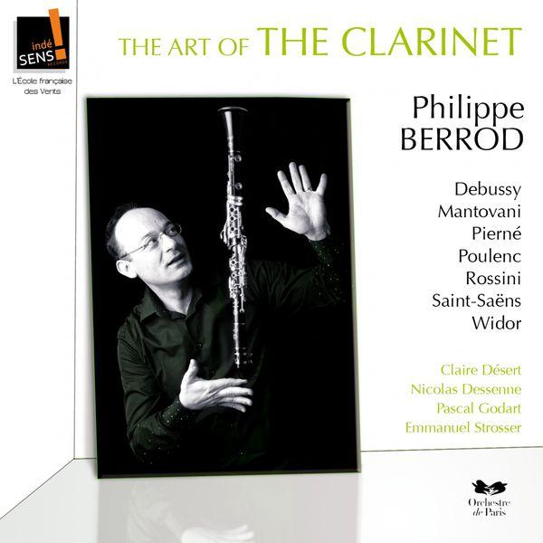 Philippe Berrod|Art of clarinet