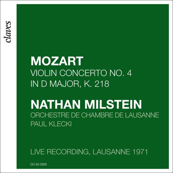 Orchestre De Chambre De Lausanne|Mozart: Violin Concerto No. 4 in D Major, K. 218 (Live recording, Lausanne 1971)