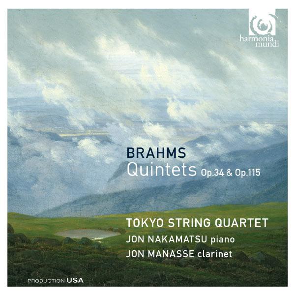 Tokyo String Quartet - Johannes Brahms : Quintets Op.34 & Op.115