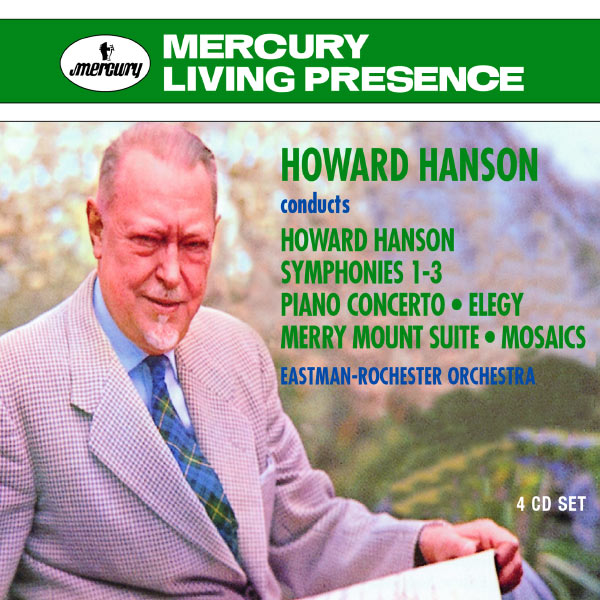 Howard Hanson - Howard Hanson conducts Howard Hanson